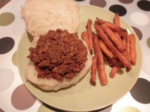 Homemade Grown-up Sloppy Joes